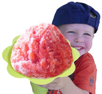Marketing work for Hawaiian Style Shave Ice